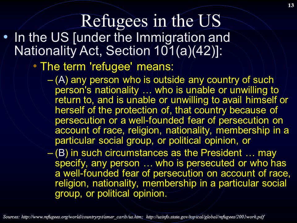 the immigration and refugee protection act Immigration and refugee protection act - download as pdf file (pdf), text file (txt) or read online.